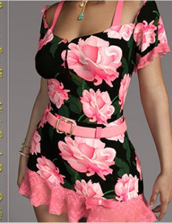 Romance for dForce Alivia Candy Outfit