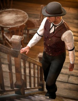 Banker's Outfit for Genesis 8 Male(s)