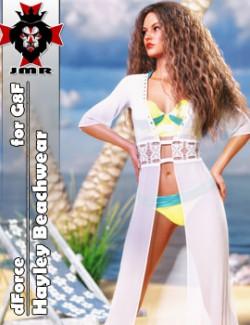 JMR dForce Hayley Beachwear for G8F