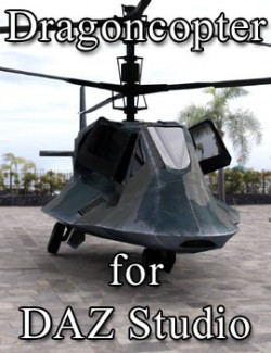 Dragoncopter for DAZ Studio