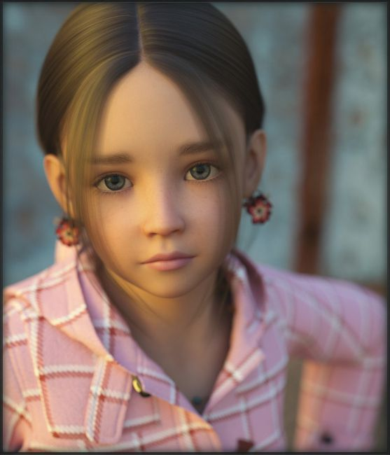 Chloe for Genesis 3 Female