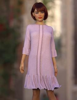 dForce Clio Dress for Genesis 8 Female(s)