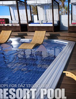 Resort Pool Daz Studio