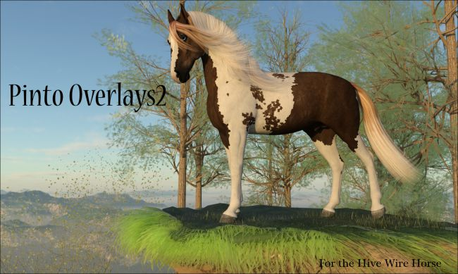 Pinto Overlays 2 for the HiveWire Horse