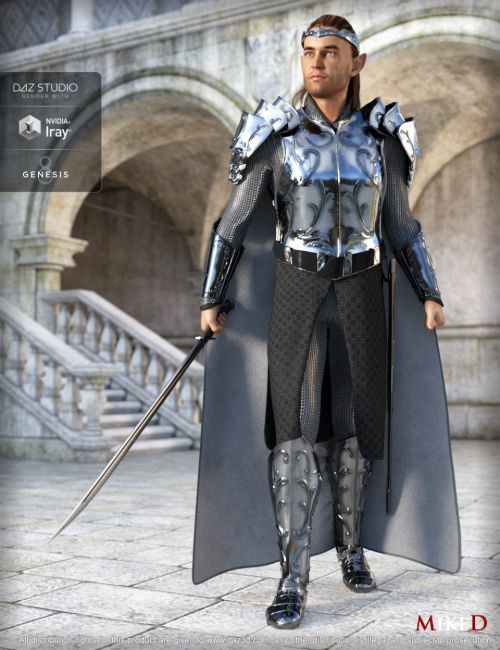 MD dForce HD Elven Royal Armor for Genesis 8 Male(s)