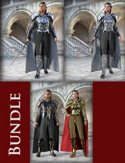 MD dForce HD Elven Royal Armor Bundle