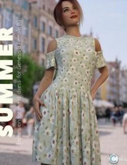 NELMI- Summer for Ingrid Dress G8F