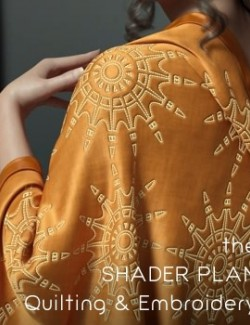 Shader Plan - Iray Quilting and Embroidery