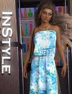 InStyle - dForce - Bandeau Dress for G8F