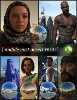 Middle East Desert HDRI