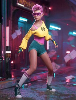dForce Stardust Outfit for Genesis 8 Females