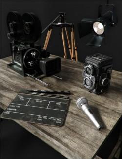 Vintage Film Props