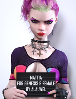 Mattia for Genesis 8 Females