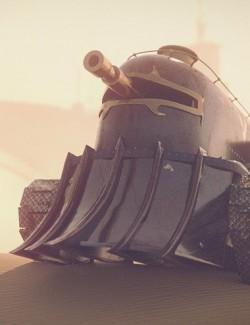 Steampunk Desert Junk