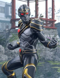 XuanWu- The Black Turtle Outfit for Genesis 8 Male(s)