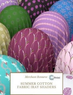 Summer Cotton Fabric Iray Shaders