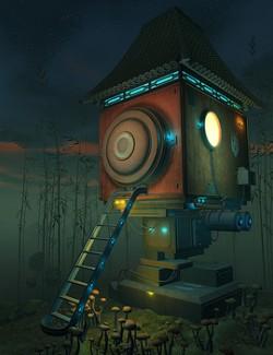 Cyber Kitsune's house for Daz Studio