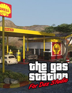 The Gas Station for DS Iray