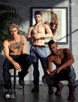 101 Series: Top Model Poses for Genesis 8 Males