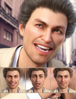 Stylish - Expressions for Genesis 8 Male and Jonathan 8