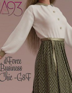 a93 - dForce Business Chic Outfit for G8F