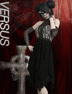 VERSUS- Goth N Bothered dForce outfit for G8F