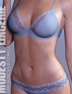 Modesty Lingerie for Genesis 8 Females