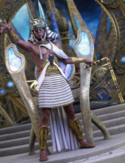 dforce Anubis Priest Outfit for Genesis 8 Male(s)