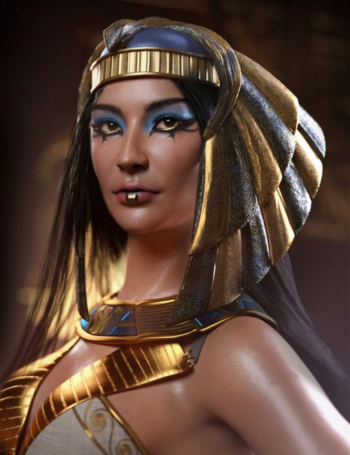 Egyptian Pharaoh Makeup