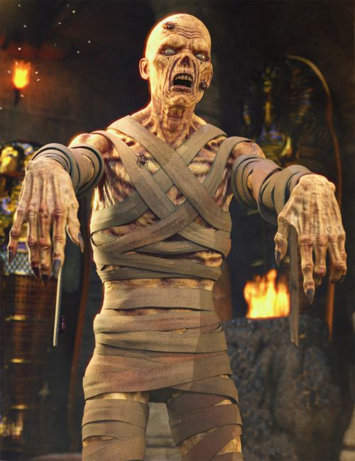Mummy HD for Genesis 8 Male
