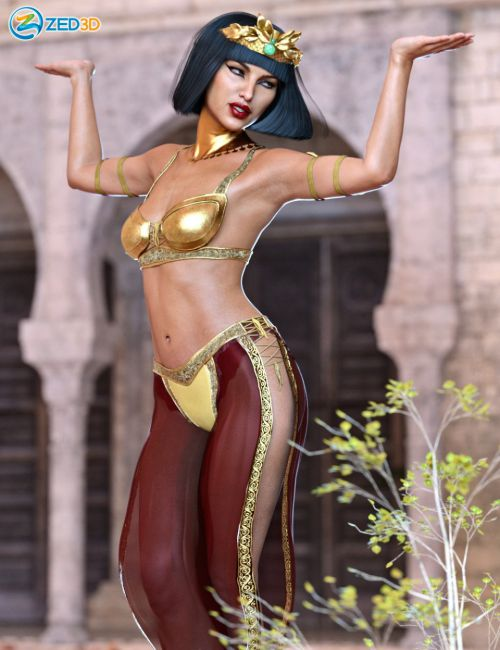 Z Sun Goddess Poses and Expressions for Twosret 8