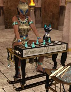 Egyptian Senet - Noble Expansion
