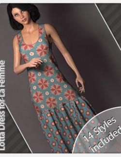 Lotta Dress for La Femme