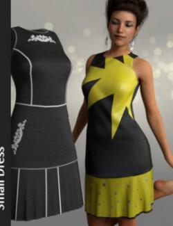dForce Small Dress for Genesis 8 Female