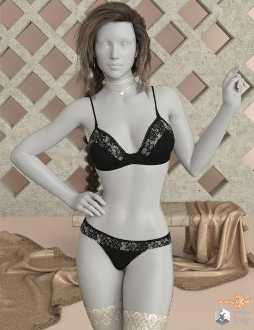 VERSUS - Modesty Lingerie for Genesis 8 Females