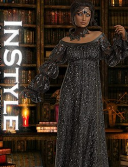 InStyle- dForce- Mameluke Gown for G8F