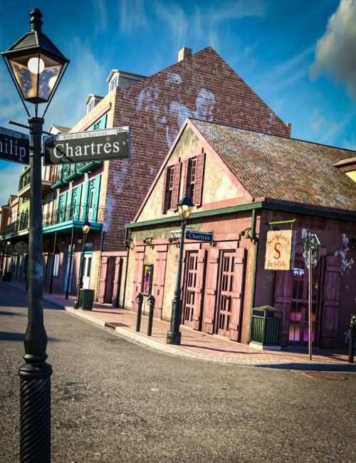 SW French Quarter - Seraphim's Corner