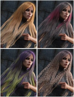 Texture Expansion for Turbulent Long Hair
