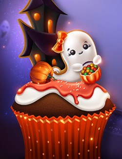 Moonbeam's Halloween Spookakes