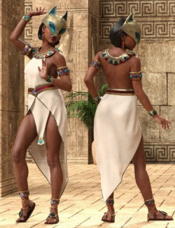 dForce Menhet Outfit for Genesis 8 Female