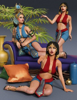 Poses of Egypt for Genesis 8 Female