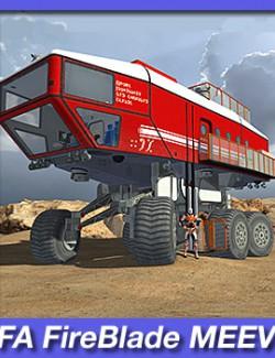 FA FireBlade MEEV: Multi Environment Exploration Vehicle.