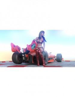 Fermion Race Car