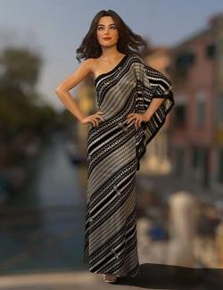 dForce Roxie Dress for Genesis 8 Female(s)