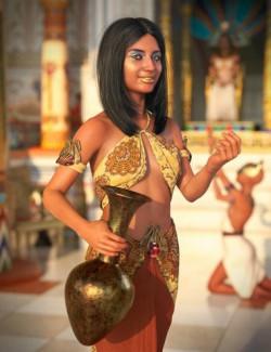 Khemsit 8 Ancient Egyptian Handmaiden Bundle