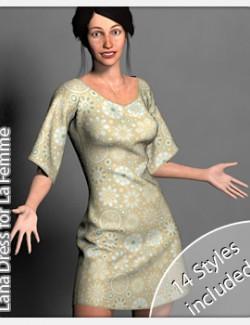 Lana Dress for La Femme