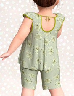 dForce Petite Style Clothing Set for Genesis 8 Female(s)