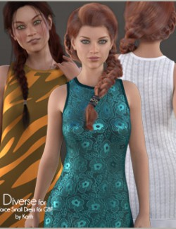 Diverse for dForce Small Dress