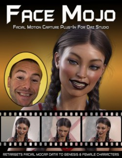 Face Mojo- Facial MoCap Retargeting for Genesis 8 Females
