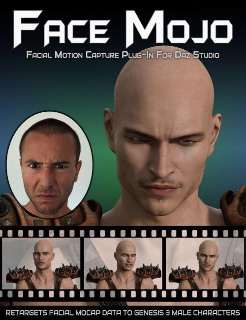 Face Mojo - Facial MoCap Retargeting for Genesis 3 Males